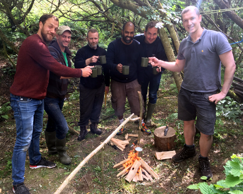 Bushcraft, learn to make fire