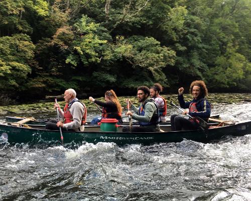 Canoeing | Teifi Gorge | Cardigan | Cardigan Bay Active