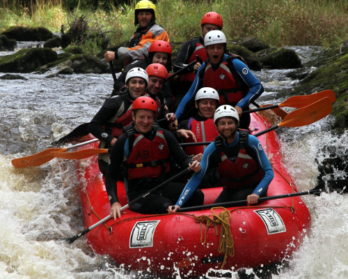 White Water Rafting Wales